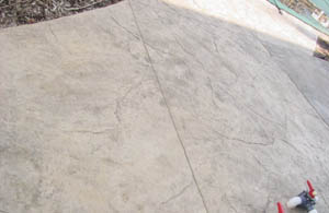 slate stamped concrete patio plainfield